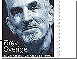 Портрет Ингмара Бергмана будет увековечен на почтовых марках