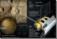 """В кратере Меркурия нашли """"телефонную трубку"""""""