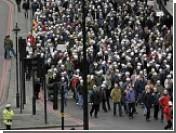 Тысячи британских полицейских устроили демонстрацию
