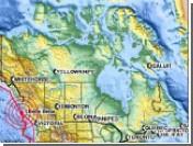 У побережья Британской Колумбии произошло мощное землетрясение