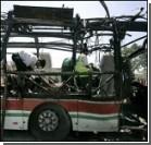 На остановке взорван пассажирский автобус: есть жертва