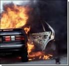 На Ровенщине горят дорогие авто
