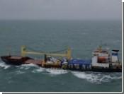 Российское судно потеряло в Ла-Манше 1500 тонн древесины
