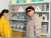 Ким Чен Ир побывал на стройке ГЭС и в семье солдат-молодоженов