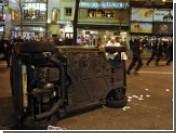Парижские демонстрации переросли в массовые беспорядки