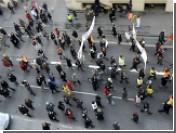 Во Франции началась массовая забастовка транспортников