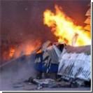 На месте пожара в Луганске нашли обгоревший труп