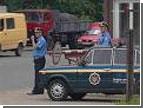 В Запорожье двое гаишников скрутили пятерых вооруженных до зубов преступников