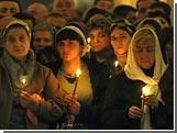 Россия празднует Рождество Христово / Праздничные службы проходят во всех действующих храмах