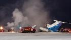 Новый год в России начался с катастрофы самолета Ту-154. Есть раненные и погибшие