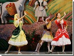 В Михайловский театр на балет залетел голубь