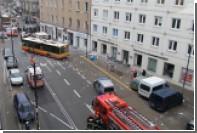 В центре Варшавы произошел взрыв