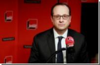 Олланд предложил отменить антироссийские санкции