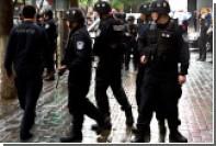 В Китае полиция ликвидировала вооруженных топором террористов