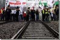 Польские шахтеры анонсировали похороны премьер-министра