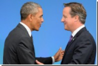 Обама и Кэмерон подтвердили решимость противостоять России
