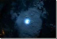 Астронавт МКС сфотографировал молнию из космоса