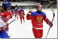 Женская молодежная сборная России впервые выиграла медали ЧМ по хоккею