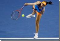 Американскую теннисистку стошнило во время матча Australian Open