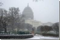 В Палате представителей США отменили голосование из-за снежной бури