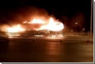 При пожаре в пассажирском автобусе в Китае погибли 17 человек