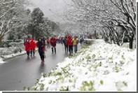 Жертвами аномальных холодов на Тайване стали 85 человек