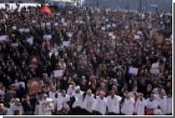 В Тегеране прошли массовые акции протеста