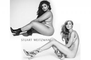 Голую модель plus-size обозвали «грудой жира» за пародию на Джиджи Хадид