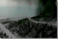 Опубликовано видео схода лавины после извержения вулкана в Японии