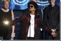 Бруно Марс получил «Грэмми» за лучшие песню и альбом года