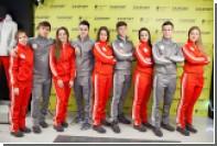 Российские олимпийцы показались в новой форме