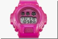 Японцы выпустили ярко-розовые часы вместе с модным диджеем