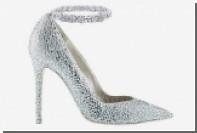 Первые в мире платиновые туфли украсили бриллиантами