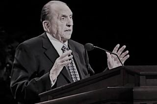 Умер главный мормон