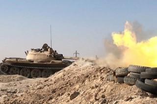 Сирийская армия отбила окруженную базу под Дамаском