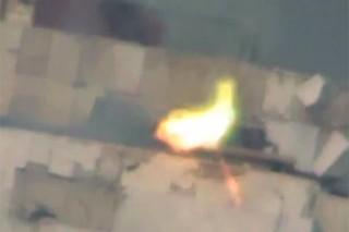 Боевик уничтожил ПТРК выстрелом из снайперской винтовки