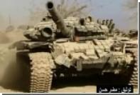 Сирийцы показали городские бои с участием танков