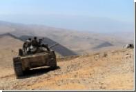 Сирийские танки уберегли от американских ракет