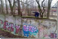 Нетронутый кусок Берлинской стены нашли в лесу