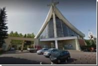 Польский кабан ворвался в церковь и сломал Христа