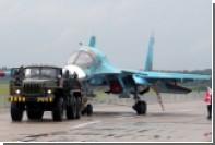 Приземление боевых самолетов на автодорогу попало на видео