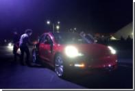 В новой Tesla нашли «пасхалку» с благодарностью создателям электрокара