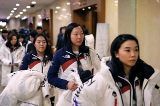 Спортсменки из Северной и Южной Кореи не смогли понять друг друга на тренировке