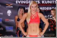 Российская девушка-боец дебютирует в UFC