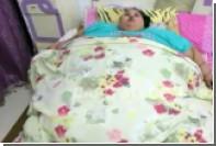 500-килограммовую египтянку доставили в Индию для лечения