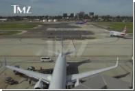 Появилось видео опасного сближения самолета Харрисона Форда с авиалайнером