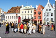 Россия заняла второе место по числу туристов в Эстонии