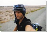 Путешествующего по миру велосипедиста обокрали после возвращения домой