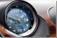 Bentley предложил россиянам поставить в Bentayga часы с бриллиантами