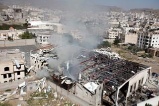 При авиаударе по пригороду столицы Йемена погибли 9 женщин и ребенок